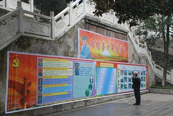 威信县学习杨善洲同志宣传组图
